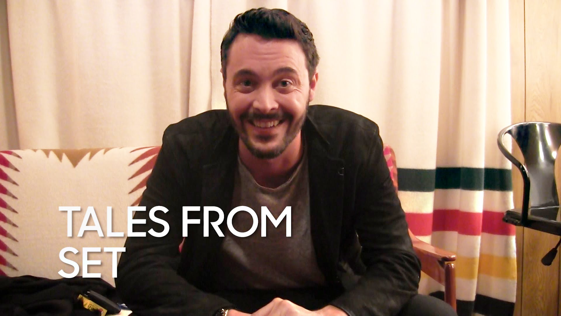 Watch Late Night with Jimmy Fallon Season  - Tales from Set: Jack Huston on