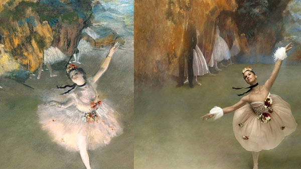 Watch NBC TODAY Show Season  - Even the Greatest Artists Are Humans: Misty Copeland Re-creates Iconic Edgar Degas Works Online