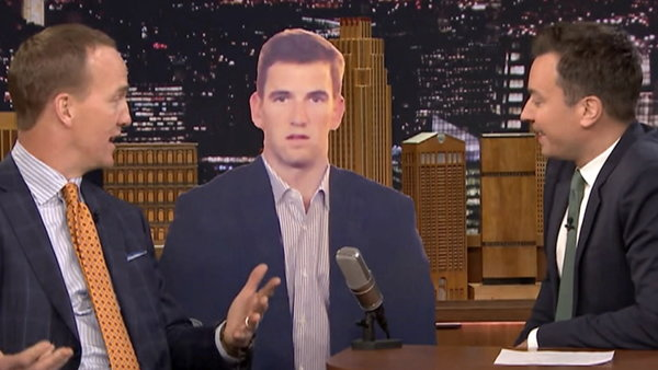 Watch NBC TODAY Show Season  - Peyton Manning Jokes About Brother Eli On Tonight Show Online
