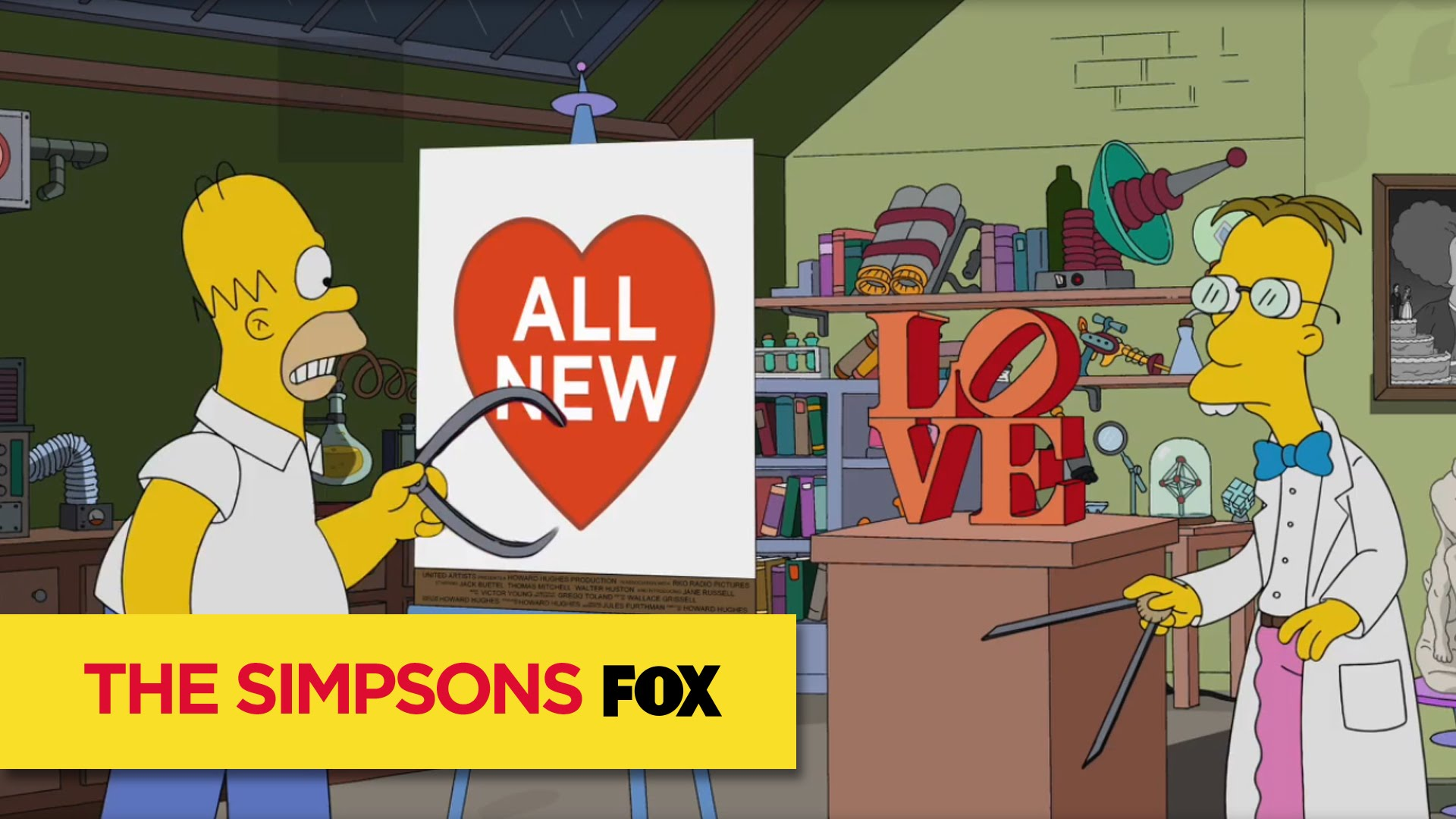 Watch The Simpsons Season  - THE SIMPSONS | SIMPSONS Valentine's! | ANIMATION on FOX Online