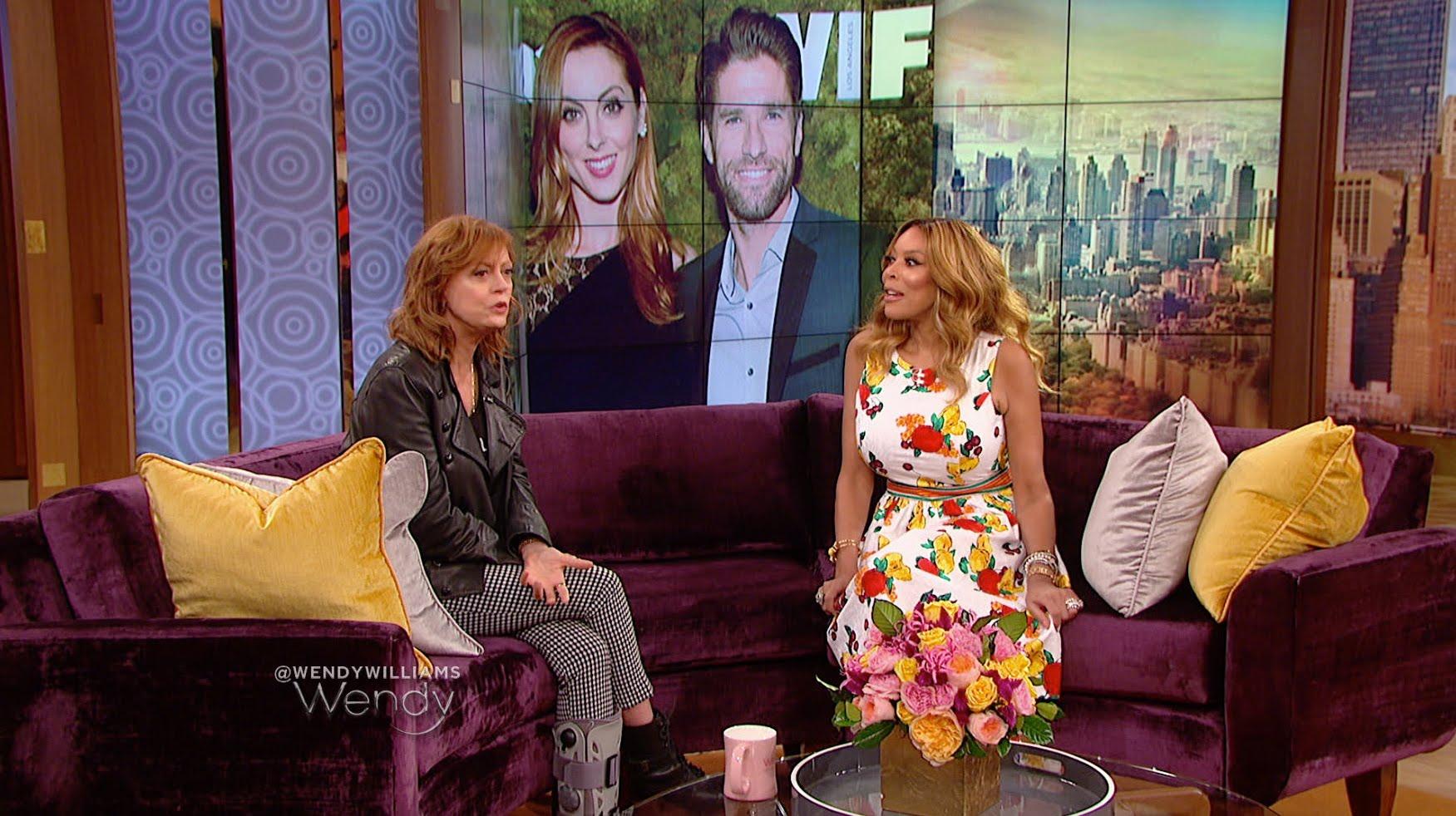 Watch The Wendy Williams Show Season  - Susan Sarandon is