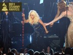 Redemption or Disgrace? Christina Aguilera Falls at End of Grammy Performance (Watch the Video)