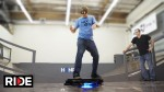 Watch Tony Hawk Ride the World's First Working Hoverboard