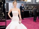 Jennifer Lawrence Faceplants After Winning Best Actress