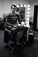 Henry Cavill Wears Christopher Reeve's Superman Suit in Old Photo