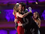 John Krasinski Ran On Stage to Hug Emily Blunt When She Won a Critic's Choice Award and It Was Adorable