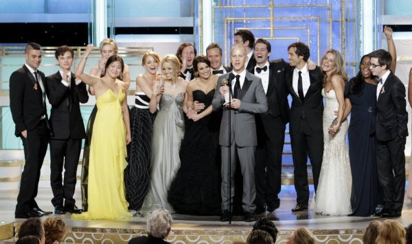 Glee Stars Surprised by Five Golden Globe Awards Nominations