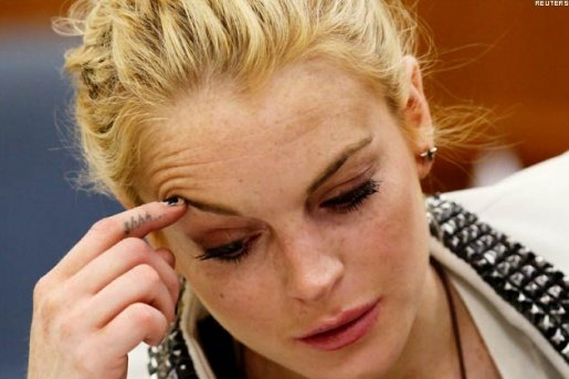 Lohan Cooperating (So Far) With Court-Ordered Community Service