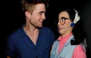 Robert Pattinson Finds Comfort on Katy Perry's Big, Soft, Erm... Shoulders.