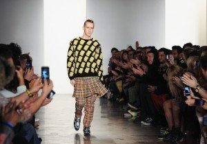 Bart Simpson Struts NY Fashion Show's Catwalk