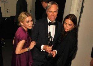 Olsen Twins, Johnny Depp Honored At Fashion's CFDA Awards