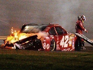 Juan Pablo Montoya's Daytona 500 Crash Makes Race A Ratings Winner