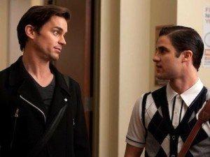 'Glee' Extra: Watch Blaine (Darren Criss) and Cooper (Matt Bomer) Audition for 'Transformers'