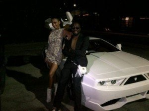 Who Was That Masked Man? He Claims He Stole Will.i.am's Car