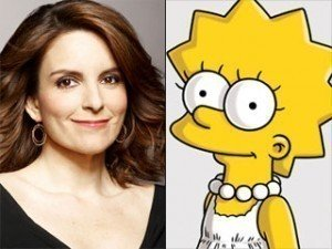 It's Guest Star Tina Fey vs. Lisa On 'The Simpsons'