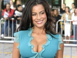 Young Sofia Vergara Urged to Get a Breast Reduction