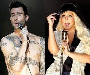 Christina Aguilera Ribs 'The Voice' Cohort Adam Levine About New Fragrance