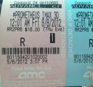 Picture Suggests 'Prometheus' Gets 'R' Rating