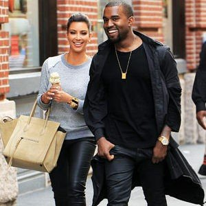 Kanye West Makes Over Kim Kardashian's Closet. Alert the President!