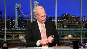 From The Home Office: 'Out Of Touch' 101, With Prof. David Letterman