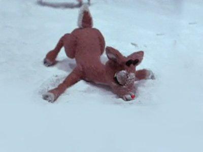 Sarah Palin's Caribou Hunt as Rudolph