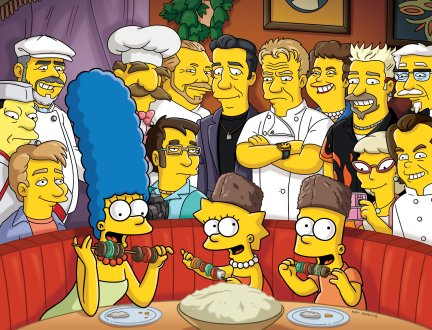 The Simpsons Take on Foodie Culture with 'The Food Wife'