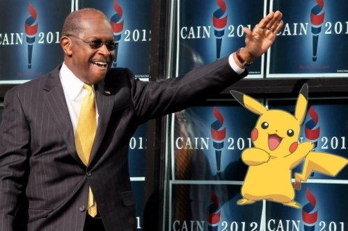 Herman Cain Admits Campaign Speech Quoted 'Pokemon'