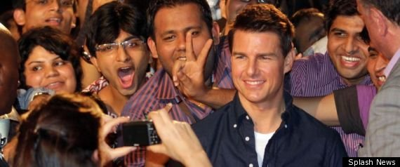 Tom Cruise Reps Reject Reports of Crowd Bribery