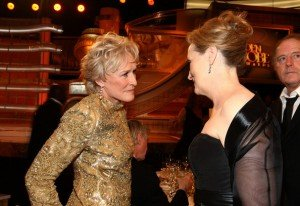 Meryl Streep and Glenn Close