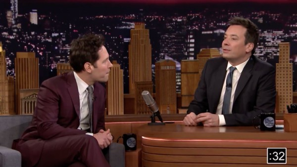 Jimmy Fallon and Paul Rudd Perform a Very Short 'Tonight Show'