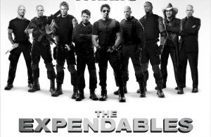A Zip-Line, Machine Guns And A Flipped-Over Jeep? Yep, 'The Expendables 2'