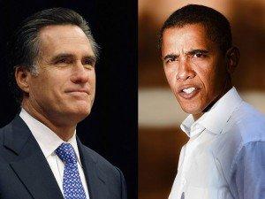President Barack Obama and Mitt Romney Mad Men