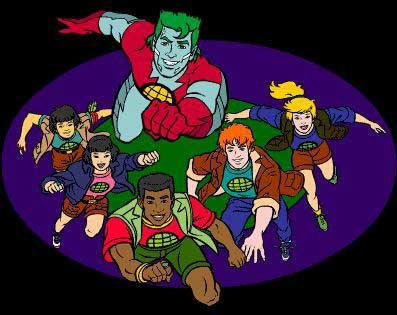 'Captain Planet' Live-Action Movie Officially in Development