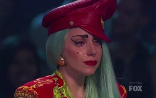 Watch Lady Gaga Cry About 'So Think You Can Dance' Act