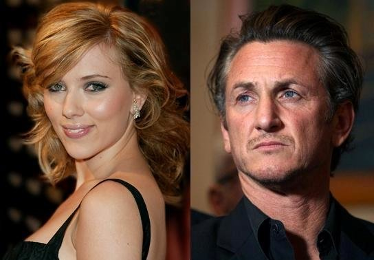 Scarlett Johansson and Sean Penn Romance is Official...and Gross