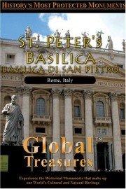 Global Treasures: St. Peter's Basilica - Basilica Di San Pietro, Rome, Italy