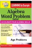 Algebra Word Problem: Age Problems