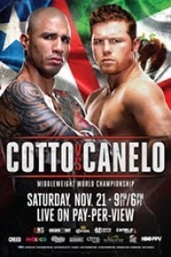 Cotto vs. Canelo (11/28/15)