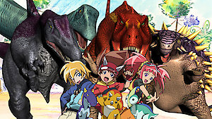 Watch Dinosaur King Season 2 Episode 29 - Monk in the Middle Online