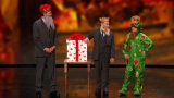Watch America's Got Talent - Penn and Teller Team up With Piff the Magic Dragon and Mat Franco Online