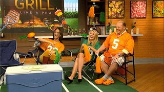 Watch The Chew Season 5 Episode 97 - Football Feast Online