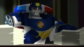 Watch Transformers: Rescue Bots Season 4 Episode 9 - Mayor May Not Online