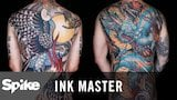 Watch Ink Master - America Gets A Look At The 35-Hour Color Master Canvases | Ink Master: Shop Wars (Season 9) Online