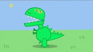Watch Peppa Pig Season 7 Episode 10 - George's New Dinosau... Online