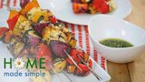 Watch Home Made Simple - Citrus Veggie Skewers with Chimichurri Sauce | Home Made Simple | Oprah Winfrey Network Online