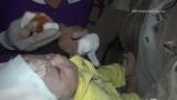 Watch Primer Impacto Season  - Voluntario Llora Mientras Sostiene en Brazos a Beb Que Rescat de los Escombros en Siria Online
