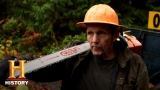 Watch Ax Men - Ax Men: A Head Between Two Logs (S9, E13) | History Online