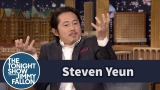 Watch Late Night with Jimmy Fallon Season  - Steven Yeun Reveals How He Stayed Mum on His Walking Dead Fate Online