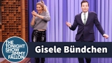 Watch Late Night with Jimmy Fallon Season  - Gisele Bndchen Passes the Runway Model Torch to Jimmy in a Walk-Off Online