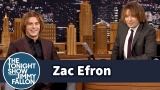 Watch Late Night with Jimmy Fallon Season  - Zac Efron and Jimmy Try Out Zac's Crimped Eighth-Grade Hairstyle Online